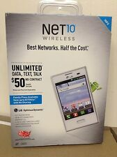 New LG Optimus Dynamic Smartphone for Net10