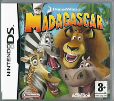 Dreamwork's Madagascar for Nintendo DS  (plays 3ds in 2D) kids game