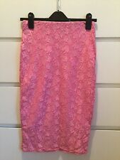 river island midi pencil skirt size 8