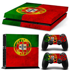 SKIN PS4 + MANETTES PROTECTION DRAPEAU PORTUGAL AUTOCOLLANT STICKER PS012