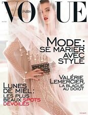Magazine VOGUE Paris 977 mode mai 2017 cover Vittoria Ceretti french may Testino