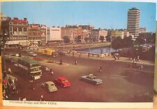 Irish Postcard O'CONNELL BRIDGE & RIVER LIFFEY Dublin Ireland 1970 Jury's Penman