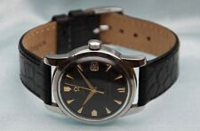 Vintage Stainless Steel Omega Seamaster 24Jewel  Automatic  505 Cal Black Dial