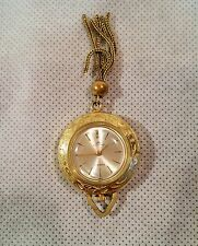 Vintage BUCHERER 17J Swiss Movement / Mechanical Woman Pendant watch