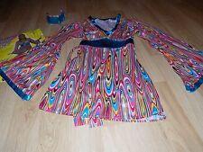 Adult Size XS-Small 2-6 Forum Novelties 60's Mod Wild Swirl Costume Dress & Band