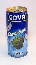Goya Guanabana Fruit Nectar Juice Puerto Rico Refresco Drink Beverage Food12lata
