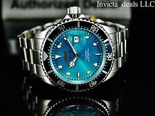 Invicta Men's 43mm Pro Diver Green Dial Silver Tone 200m Stainless Steel Watch