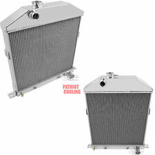 "1942 1943 1944 1945 1946 1947 1948 Ford Coupe Radiator,Aluminum 2 Row 1"" Tubes"