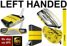 "Yes! Golf Milly Mallet Putter 35"" LEFT HANDED LH BRAND NEW - RRP£149 - RARE YES"