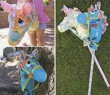 Giddy Up - Sewing Craft PATTERN - Hobby Horse Soft Toy Felt Doll Pony