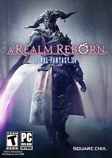 Final Fantasy 14 XIV: A Realm Reborn PC DVD *NEW*