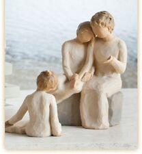 Willow Tree Grandmother with 2 Granddaughters Figurines Gift  22837