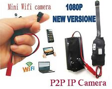 SPY CAM MINI WIFI IP SD  CCTV WIRELESS SORVEGLIANZA VIDEO CAMERA IPHONE ANDROID