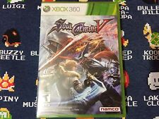 Soul Calibur 5 BRAND NEW SEALED  (Xbox 360, 2012)