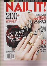 NAIL IT MAGAZINE SEPTEMBER/OCTOBER 2015.