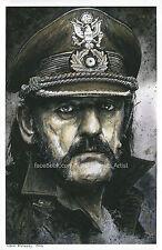 Lemmy Kilmister - Motorhead - Art / Print / Poster