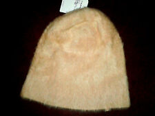 Ladies Fabulous Topshop Ultra Furry Cream Beanie Hat Ideal Daughter's Gift BNWT