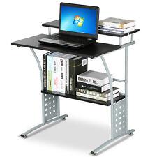 New Modern Computer Office Desk Furniture Laptop Table Black Workstation Black