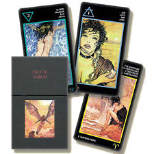MILO MANARA LIMITED EDITION erotic TAROT - 78 cards - 66 x 120 mm