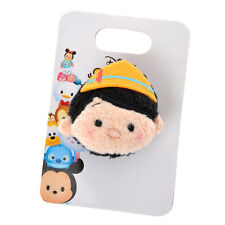 TSUM TSUM Plush Badge Stuffed toy Pinocchio black ❤ Gift Disney Store Japan