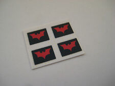 Corgi Juniors NO 69 /1003 Batmobile & Batboat [ Type 3 ] Stickers Decals