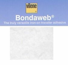Vilene Bondaweb Wonder Under 45cm 1m Vliesofix Fusible Web Iron On Adhesive Glue