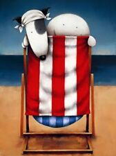 Doug Hyde Brits Abroad Mounted Limited Edition Print