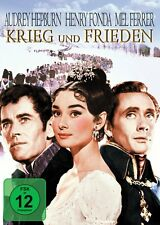 DVD * KRIEG UND FRIEDEN | AUDREY HEPBURN - FONDA # NEU OVP +