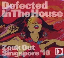 Defected In The House - Zouk Out Singapore (2xCD) SEALED Dennis Ferrer Morillo