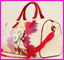 """Marilyn Monroe 17"""" DUFFLE BAG WOMEN'S TRAVEL, GYM BAG TOTE HANDBAG"""