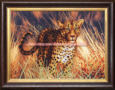 Master of Savanna Bead embroidery kit seed beads kit, DIY bead embroided picture