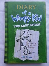 Diary of a Wimpy Kid The Last Straw Hardcover Jeff Kinney