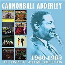 CANNONBALL ADDERLEY-THE COMPLETE ALBUMS COLLECTION 1960-1962 (4CD)  CD NEW