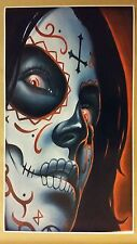 "Day of the Dead GIANT WIDE 42"" x 24"" Poster Evil art devil hell horror Halloween"