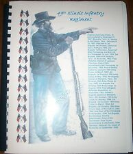 Civil War History of the 49th Illinois Infantry Regiment