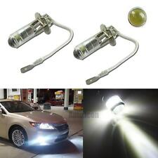 2pcs High Power White H3 4-SMD Reflector LED Bulbs For Cars Fog Driving Lights