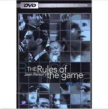 THE RULES OF THE GAME (1939) DVD - Jean Renoir (New & Sealed)