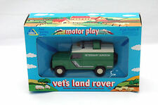 ELC vet's Land Rover (Matchbox Superkings Kingsize K 144) (#B1)