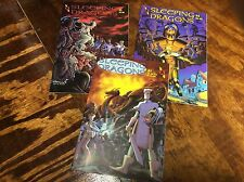 Sleeping Dragons#1-3 (Amaze Ink/0914141) comic book collection lot of 3