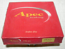 Apec DSK577 front brake disc for SAAB 9000i and Turbo 1984-1986 BNIB