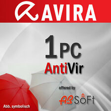 AVIRA Antivirus Pro 1 PC 2017 VOLLVERSION Premium 1 Jahr 2016