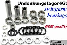 linkage bearings + guarnizioni SUZUKI RM-Z 250 (2007-09) RMZ 250 kit completo #