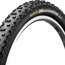 "Continental Mountain King II MTB Bike Tyre - 26"" x 2.2"" -Folding Bead- Pure Grip"