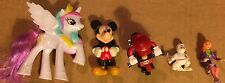 LOT of Action Figure Toys--My Little Pony, Mickey, Mario+
