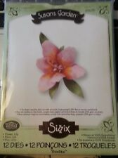 Sizzix Die Cutter 658275 LILY FLOWER 12 dies Thinlits fits BIGkick Big Shot