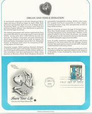 # 3227 TISSUE & ORGAN DONATION AWARENESS WEEK 1998 First Day Cover