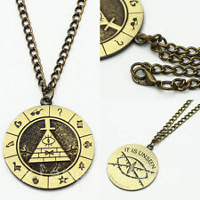 Gravity Falls Bill Cipher Boss Necklace Pendant Cosplay Collection Gift Otaku