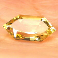 GOLDEN BERYL / HELIODOR-BRAZIL 2.42Ct CLARITY VS2-INTENSE YELLOW GOLD COLOR!