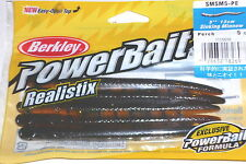 "Berkley Powerbait 5"" Realistix Sinking Minnow (Perch-5/pack)"