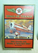WINGS OF TEXACO 1930 TRAVEL AIR MODEL R MYSTERY SHIP #5 ERTL COIN BANK #H501 5B